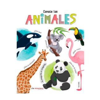 Portada -CONOCE LOS ANIMALES - DE PREGUNTA EN PREGUNTA - NIETO, CARLA - LIBSA