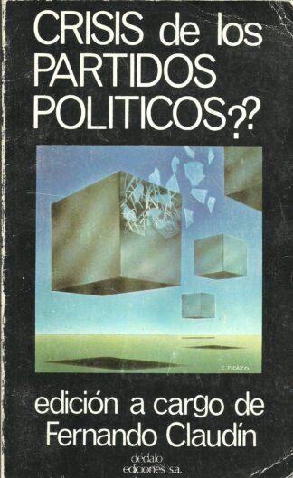 Portada ¿CRISIS DE LOS PARTIDOS POLITICOS? - VVAA - DEDALO