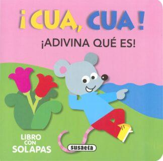 Portada ¡CUA, CUA! - JORDI BUSQUETS - SUSAETA
