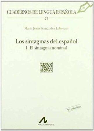 Portada CUADERNOS DE LENGUA ESPAÑOLA.N 77 - MARIA JESUS FERNANDEZ LEBORANS - ARCO LIBROS