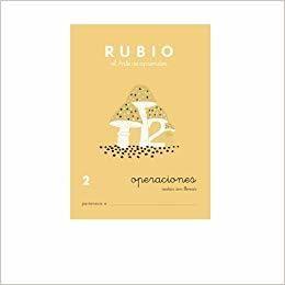 Portada CUADERNOS OPERACIONES 2. RUBIO - RUBIO POLO, ENRIQUE -