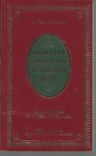 Portada CUATRO VISIONES DE LA HISTORIA UNIVERSAL - JOSE FERRATER MORA - ALIANZA CLUB INTERNACIONAL DEL LIBRO