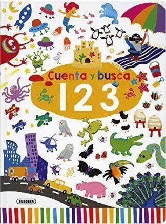 Portada CUENTA Y BUSCA. 1,2,3 - VV.AA. - SUSAETA