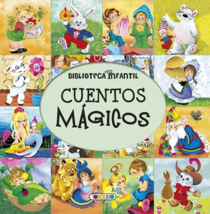 Portada CUENTOS MAGICOS-BIBLIOTECA INFANTIL - AA.VV - TODOLIBRO