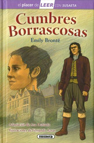 Portada CUMBRES BORRASCOSAS - EMILY BRONTË - SUSAETA
