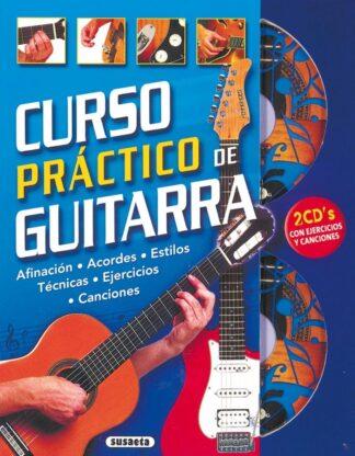 Portada CURSO PRACTICO DE GUITARRA -  - SUSAETA