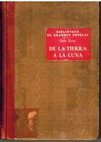 Portada DE LA TIERRA A LA LUNA - JULIO VERNE - RAMON SOPENA