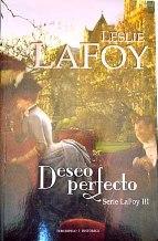 Portada DESEO PERFECTO (SERIE LAFOY III) - LESLIE LAFOY - TERCIOPELO