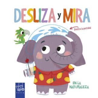 Portada DESLIZA Y MIRA. EN LA NATURALEZA - VV.AA. - ESPASA CALPE
