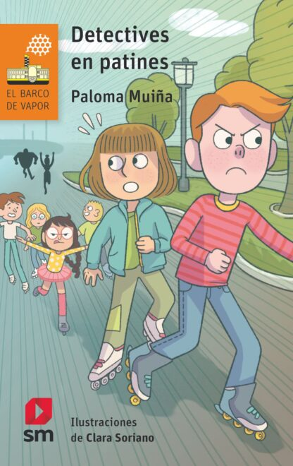 Portada DETECTIVES EN PATINES - PALOMA MUIÑA MERINO -