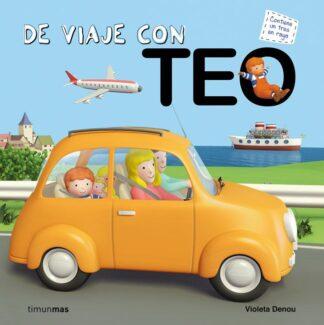 Portada DE VIAJE CON TEO -  - CIRCULO DE LECTORES