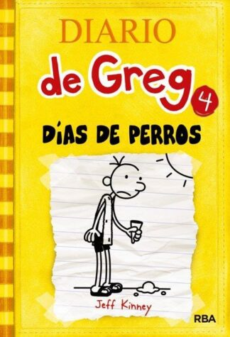 Portada DIARIO DE GREG 4. DÍAS DE PERROS. - JEFF KINNEY - MOLINO