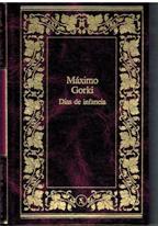 Portada DIAS DE INFANCIA - MAXIMO GORKI - SEIX BARRAL