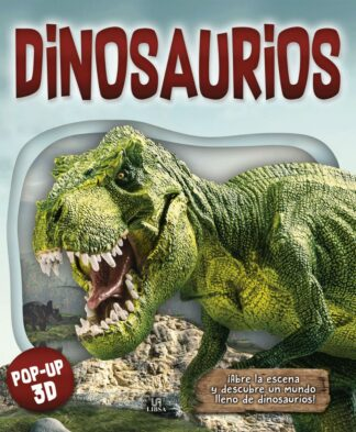 Portada -DINOSAURIOS - POP UP 3D - EQUIPO EDITORIAL - LIBSA