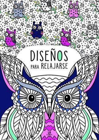 Portada -DISEÑOS PARA RELAJARSE - DOOLES ANTIESTRÉS - EQUIPO EDITORIAL - LIBSA