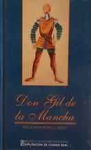 Portada DON GIL DE LA MANCHA - PEDRO J. ISADO - DIPUTACION DE CIUDAD REAL