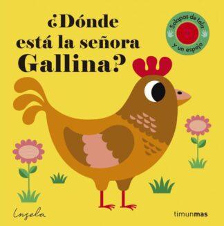 Portada ¿DONDE ESTA LA SEÑORA GALLINA? TEXTURAS -  - CIRCULO DE LECTORES