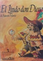 Portada EL LINDO DON DIEGO - AGUSTIN MORETO - AYUNTAMIENTO DE MADRID