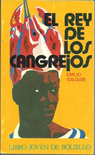 Portada EL REY DE LOS CANGREJOS - EMILIO SALGARI - DONCEL
