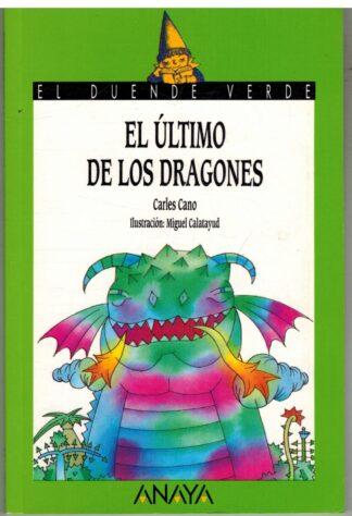 Portada EL ULTIMO DE LOS DRAGONES - EL ULTIMO DE LOS DRAGONES - ANAYA