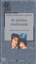 Portada EL ULTIMO MOHICANO - JAMES FENIMORE COOPER - BIBLIOTECA EL MUNDO