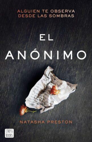 Portada EL ANÓNIMO - NATASHA PRESTON - ESPASA CALPE