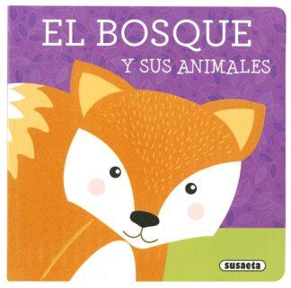Portada EL BOSQUE Y SUS ANIMALES - SUSAETA, EQUIPO - SUSAETA
