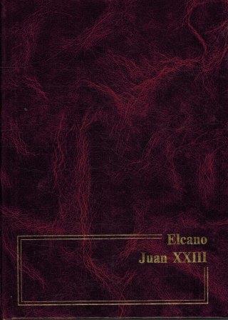 Portada ELCANO  JUAN XXIII - MARIA LUISA CELAA - NAJERA