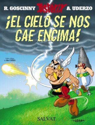 Portada ¡EL CIELO SE NOS CAE ENCIMA! - ALBERT UDERZO - SALVAT