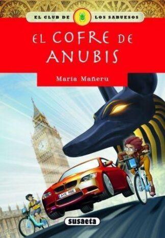 Portada EL COFRE DE ANUBIS - MARÍA MAÑERU CÁMARA - SUSAETA