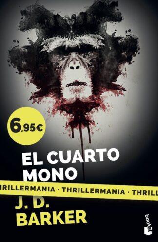 Portada EL CUARTO MONO - J. D. BARKER - BOOKET