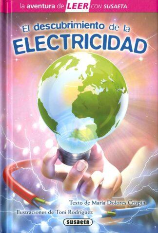 Portada EL DESCUBRIMIENTO DE LA ELECTRICIDAD -  MARÍA DOLORES CRISPÍN - SUSAETA
