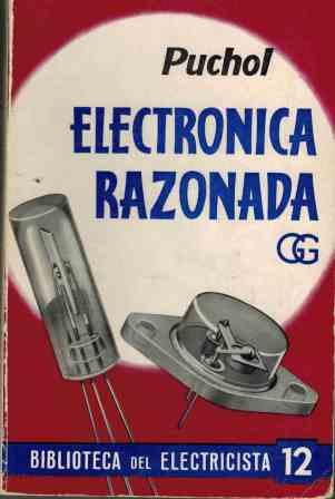 Portada ELECTRONICA RAZONADA - JOSE MANUEL PUCHOL VIVAS - GUSTAVO GILI