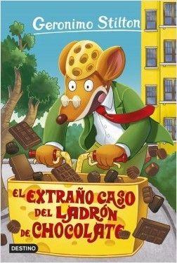 Portada EL EXTRAÑO CASO DEL LADRÓN DE CHOCOLATE - GERONIMO STILTON - DESTINO