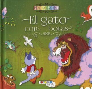 Portada EL GATO CON BOTAS- PEQUECLASICOS - AA.VV - TODOLIBRO