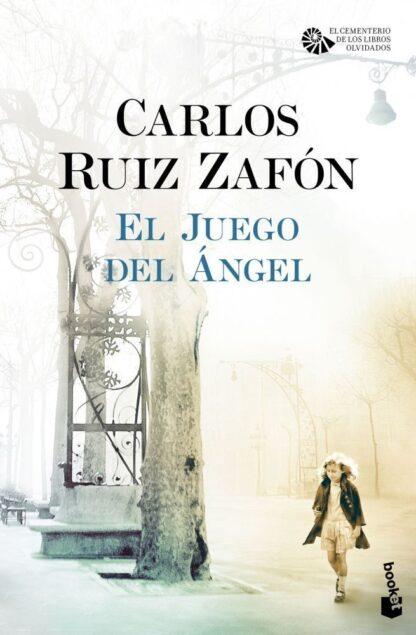 Portada EL JUEGO DEL ÁNGEL - CARLOS RUIZ ZAFÓN - ESPASA CALPE