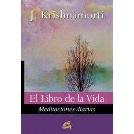 Portada EL LIBRO DE LA VIDA - KRISHNAMURTI - GAIA