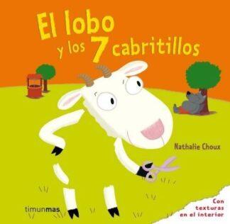 Portada EL LOBO Y LOS SIETE CABRITILLOS (TEXTURAS) -  - CIRCULO DE LECTORES