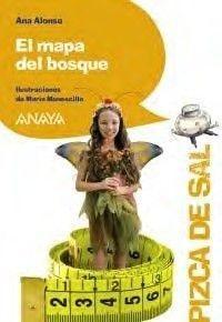 Portada EL MAPA DEL BOSQUE - ALONSO, ANA - ANAYA