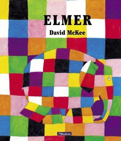Portada ELMER (ELMER. ÁLBUM ILUSTRADO) - DAVID MCKEE - BEASCOA