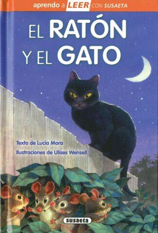 Portada EL RATÓN Y EL GATO - MORA, LUCÍA - SUSAETA