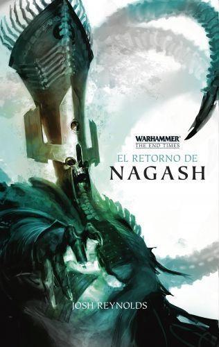 Portada EL RETORNO DE NAGASH Nº 01/05 -  JOSH REYNOLDS - MINOTAURO