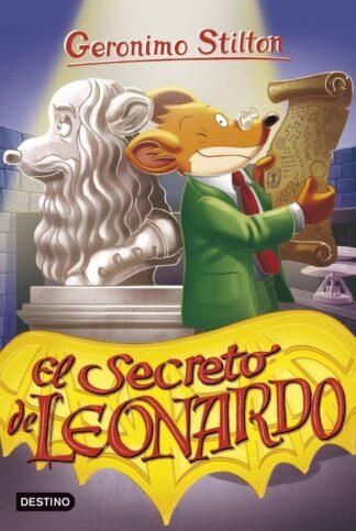 Portada EL SECRETO DE LEONARDO - GERONIMO STILTON - PLANETA