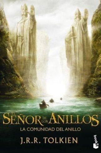 Portada EL SEÑOR DE LOS ANILLOS I. LA COMUNIDAD DEL ANILLO - J. R. R. TOLKIEN - MARTINEZ ROCA