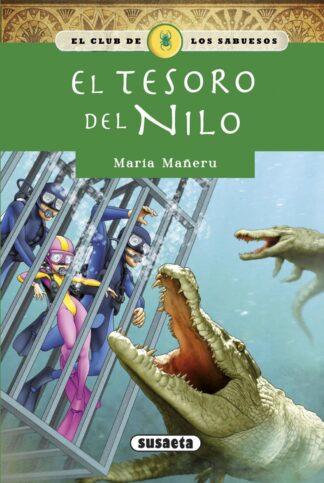 Portada EL TESORO DEL NILO - MARÍA MAÑERU - SUSAETA