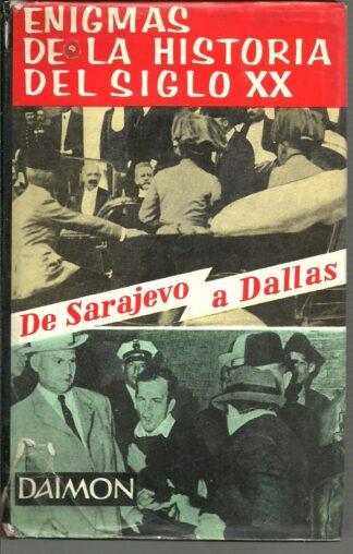 Portada ENIGMAS DE LA HISTORIA DEL SIGLO XX - JACQUES DE LAUNAY - DAIMON