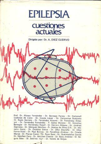 Portada EPILEPSIA. CUESTIONES ACTUALES - DR A DIEZ CUERVO - INSTITUTO SAN JOSE EPILEPTICOS.MADRID