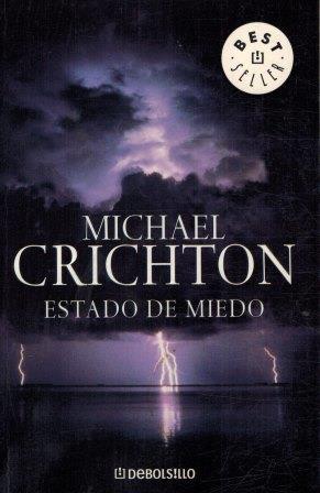 Portada ESTADO DE MIEDO - MICHAEL CRICHTON - DEBOLSILLO