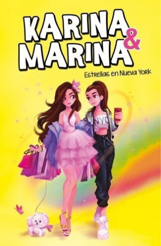 Portada ESTRELLAS EN NUEVA YORK (KARINA & MARINA 3) - KARINA & MARINA - MONTENA