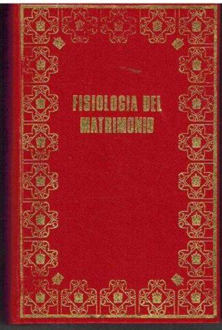 Portada FISIOLOGIA DEL MATRIMONIO - HONORATO DE BALZAC - PETRONIO